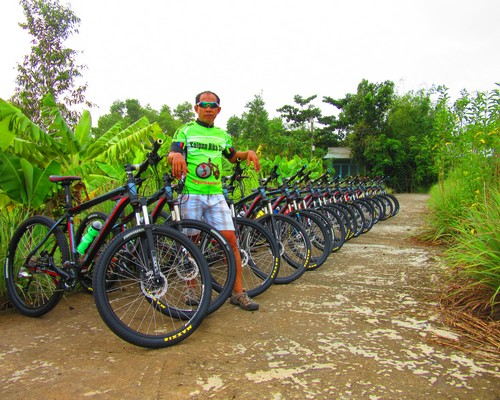 Build up all bikes for bicycle tours