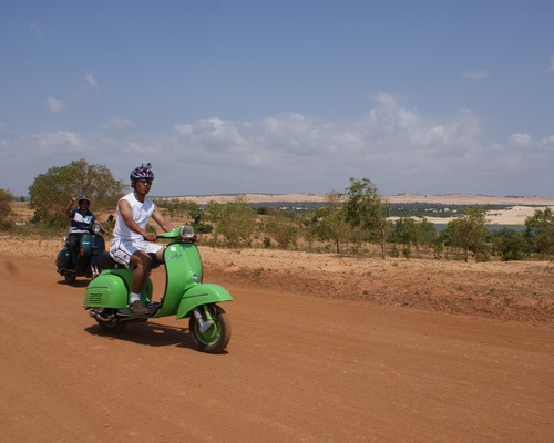 Vespa adventure tours
